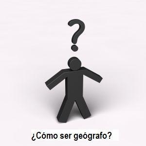 Como ser geografo n