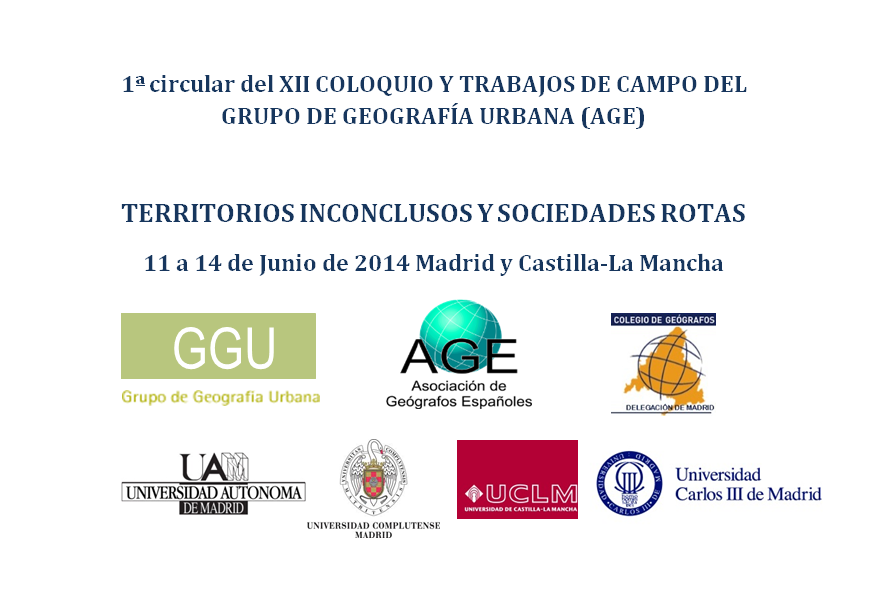 XII Coloquio Grupo Geo Urbana