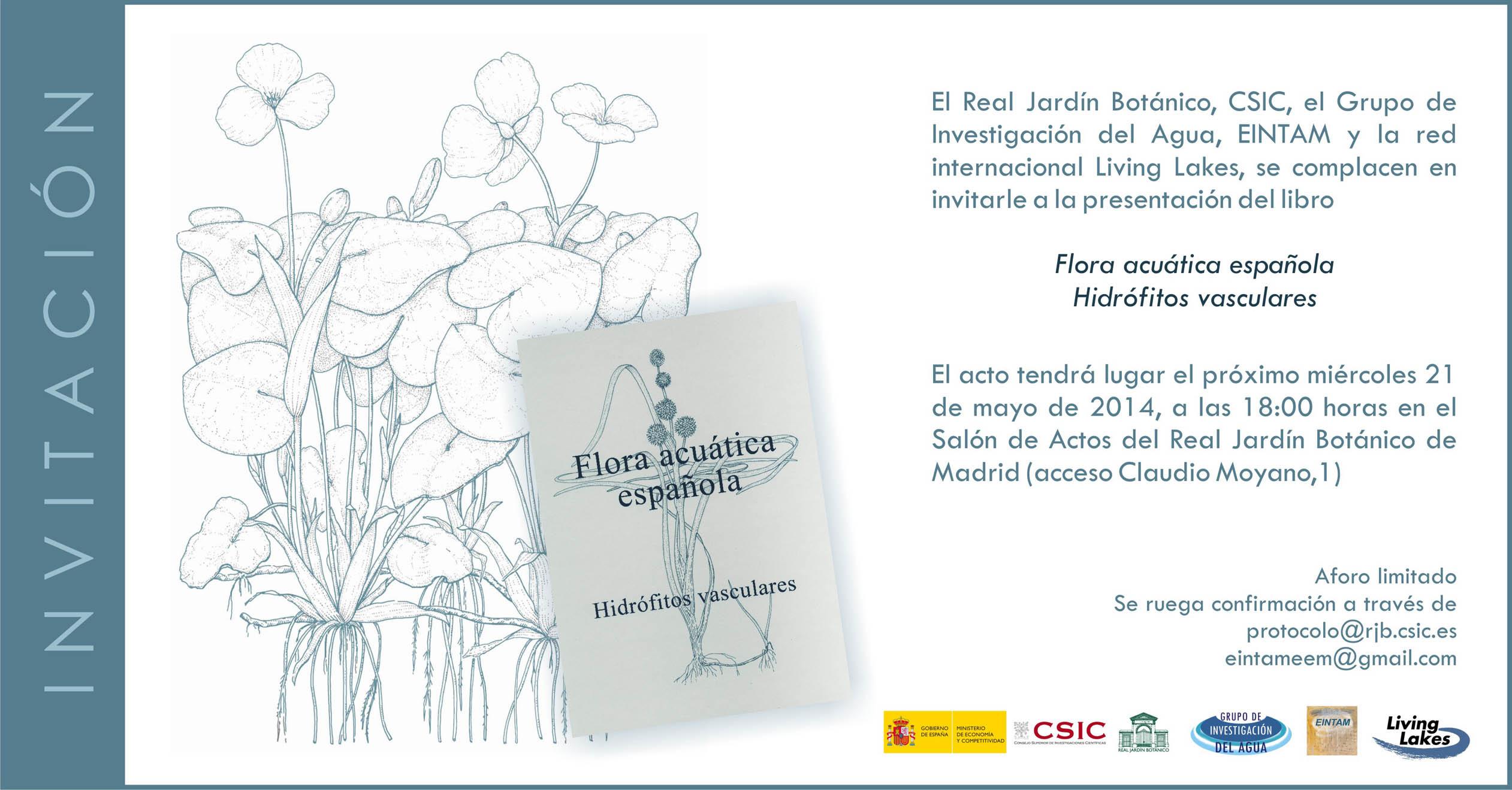 Invitación_FLORA ACUÁTICA ESPAÑOLA